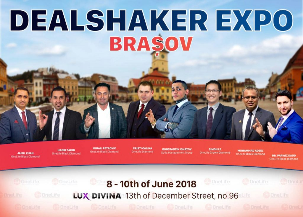 SPECIAL OFFER – DEALSHAKER EXPO BRASOV – JUNE 8-10, 2018 dealshaker 2 o 1024x733