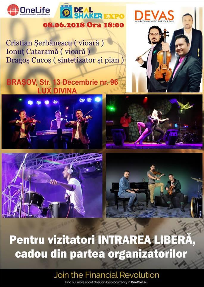 Formația Devas, concert extraordinar la DealShaker Expo Brașov 33020021 456220804823032 1560479335100448768 n