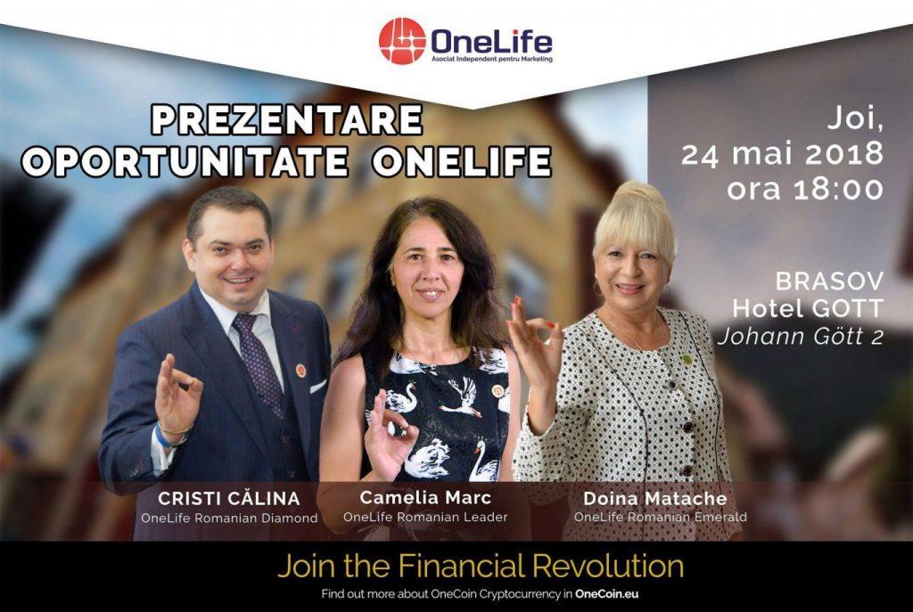 Experții OneLife, prezentări la Brașov. Vino să afli cum să faci afaceri la un alt nivel curs1 1024x687