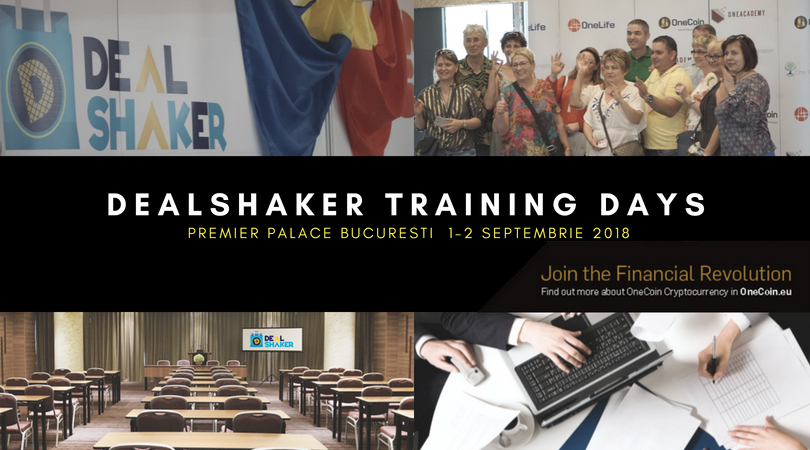 dealshaker training days DealShaker Training Days. 1-2 Septembrie, în București dealshaker training days 1