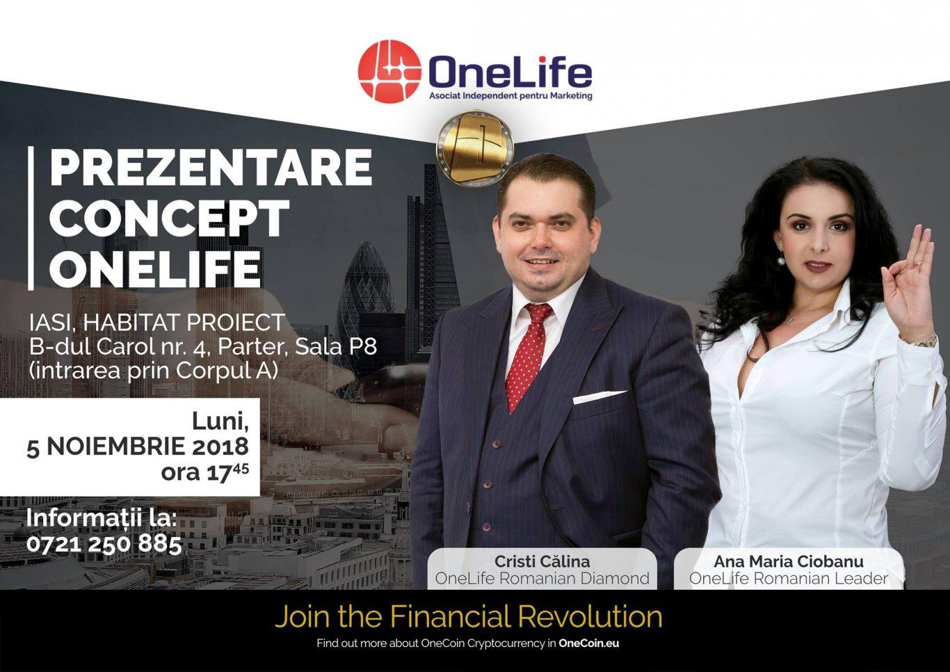OneLife Business Tour Iași. Vino să descoperi avantajele OneCoin  OneLife Business Tour Iași. Vino să descoperi avantajele OneCoin 45015758 10218654718104987 2202824189939810304 o