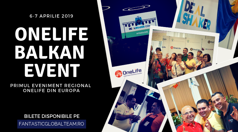 OneLife Balkan Event. Speakeri din 14 țări vin la București onelife balkan event OneLife Balkan Event. Speakeri din 14 țări vin la București ONELIFE BALKAN EVENT BANNNER 2