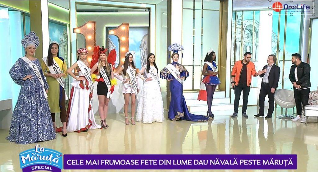 Miss OneLife – ,,La Măruță'', la ProTV. Ambasadoarele frumuseții, în prim-plan maruta 1024x555