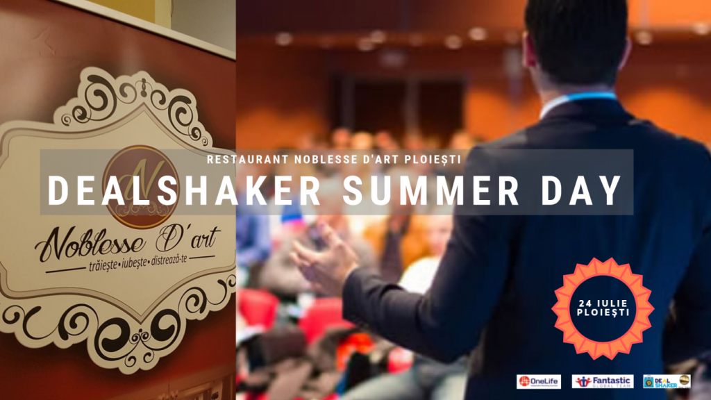 dealshaker summer day DealShaker Summer Day – Partenerii OneLife, la Ploiești DEALSHAKER SUMMER DAY 1024x576