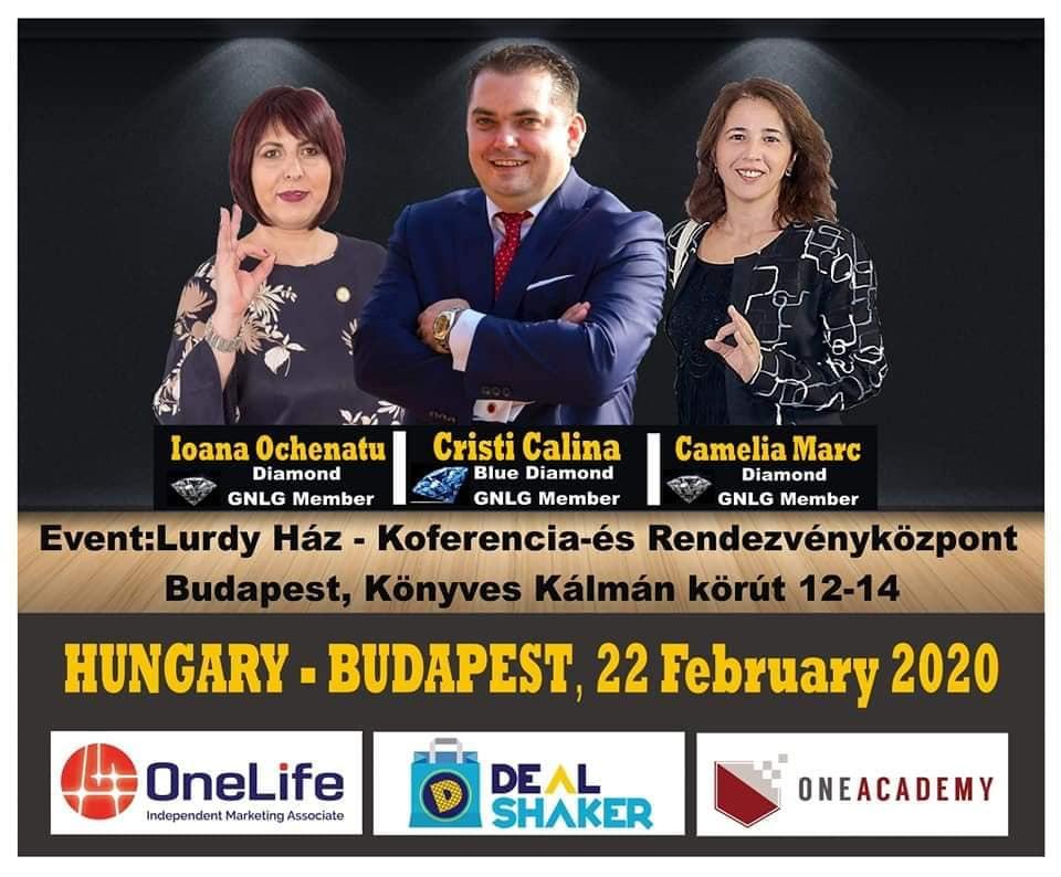 Echipa OneLife România, la DealShaker Expo Budapesta [object object] Echipa OneLife România, la DealShaker Expo Budapesta 87060654 283801369248783 6231686595158736896 n