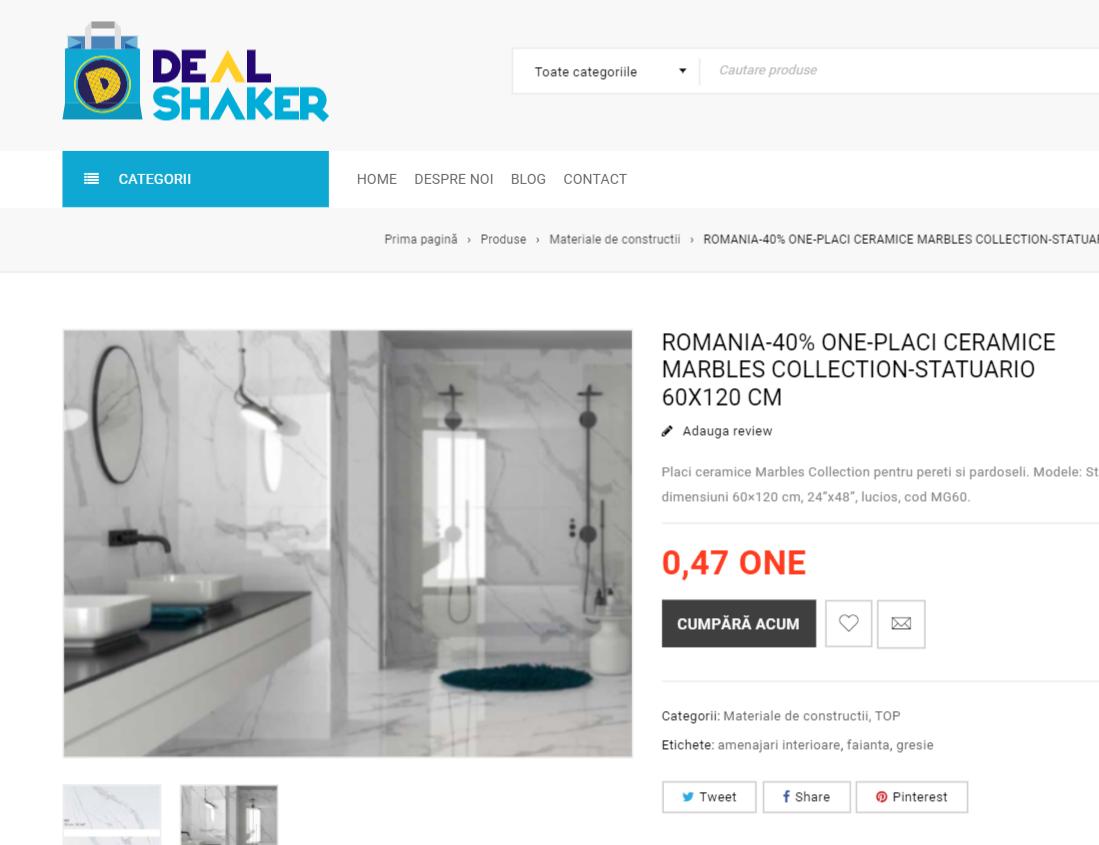 Noua platformă Dealshaker.ro, lansată oficial. Susținem producătorii și comercianții români chrome AoYHVUmY7v