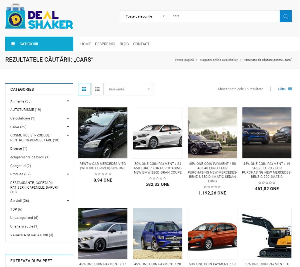 Noua platformă Dealshaker.ro, lansată oficial. Susținem producătorii și comercianții români chrome ynkcKE8Hjo