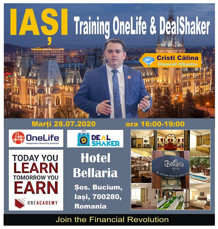 Iasi DealShaker Business Days. Oamenii de afaceri din Moldova, invitați să descopere oportunitățile OneLife & Dealshaker 116244991 3355301281186157 5303636794713121392 n