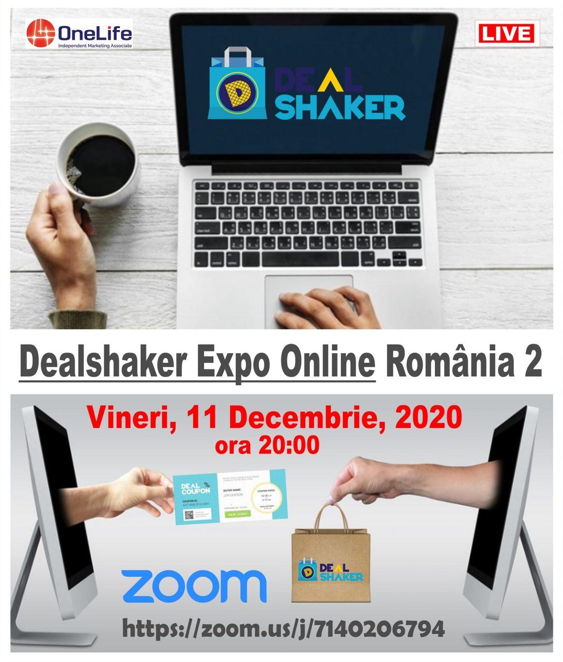 Vă invităm la DealShaker Online Expo România – ediția a II-a 130804320 3758923017490646 1512449839488869689 o