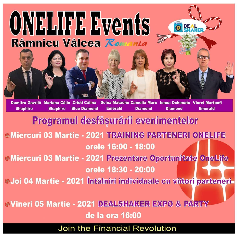 OneLife Events Râmnicu Vâlcea. Comercianții români discută despre digitalizarea afacerilor rm  De ce nu trebuie sa ratezi seria de evenimente OneLife Rm. Valcea rm