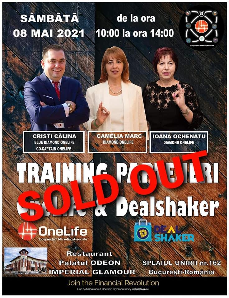 Super Saturday. Un nou training integrat OneLife & Dealshaker în București 182846482 600926080869642 5266428148587572801 n