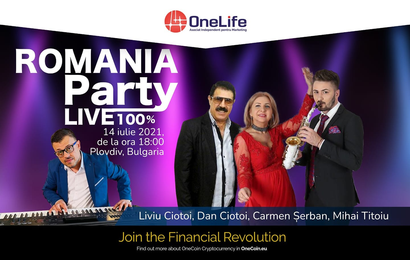 The Ryse of ONE Ecosystem. Cel mai mare eveniment OneLife din 2021 213078638 4335412536508355 5255000008075589568 n